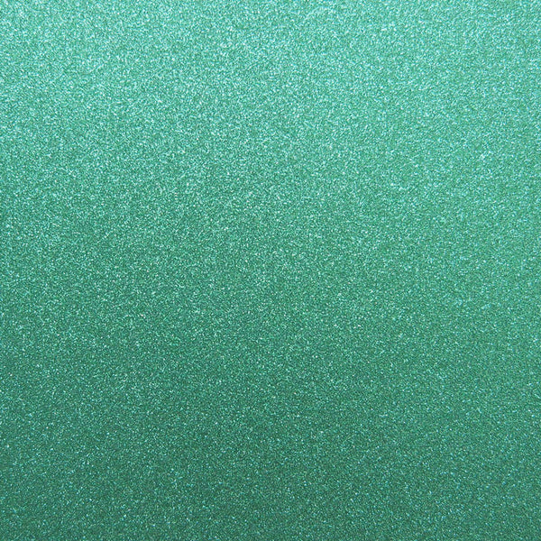 Prussian Aqua Blue Glitter Card Stock 81#, 12