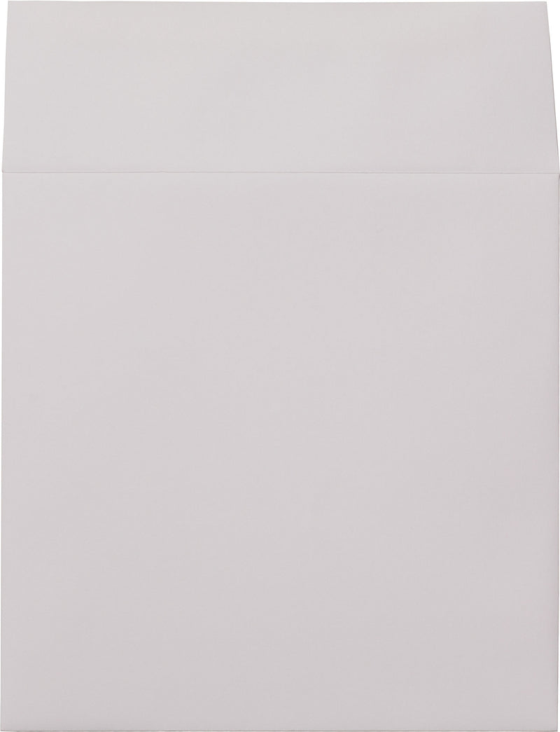 "6 1/2"" Square Bright White Solid Envelopes (6 1/2"" x 6 1/2"") - Paperandmore.com"