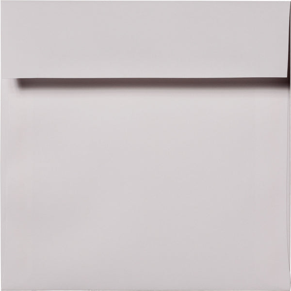 "5 1/2"" Square Bright White Solid Envelopes (5 1/2"" x 5 1/2"") - Paperandmore.com"