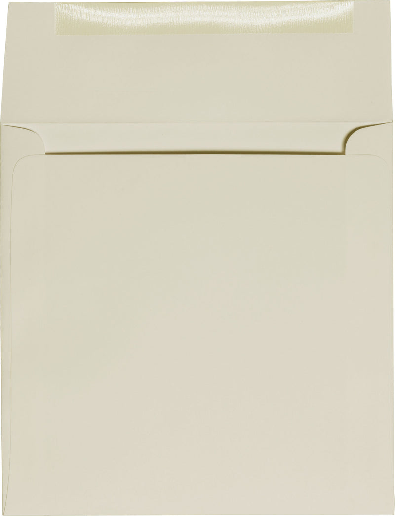 "5 1/2"" Square Sand Solid Envelopes (5 1/2"" x 5 1/2"") - Paperandmore.com"