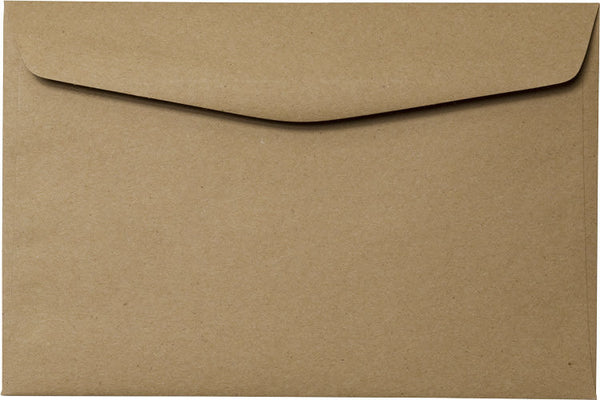 "6"" x 9"" Booklet Kraft Brown Recycled Envelopes - Paperandmore.com"