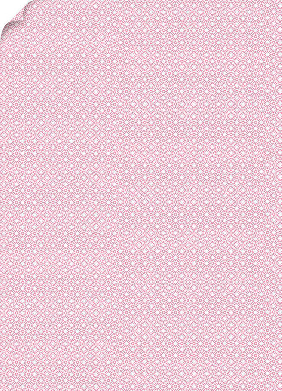 Mod Pink Patterned Card Stock 80#, 8 1/2