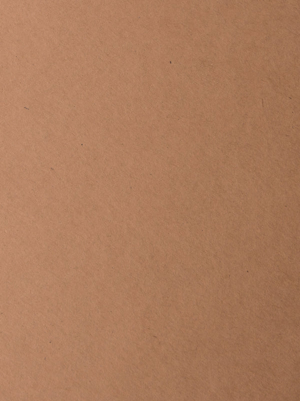 Kraft Brown Raw Card Stock 130#, 8 1/2