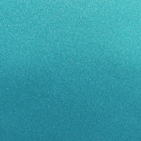 Ocean Blue Glitter Card Stock 81 lb, 8 1/2