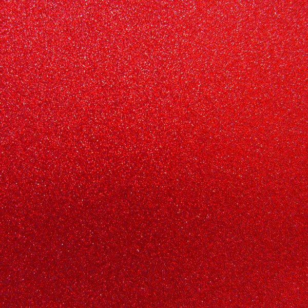 Red Glitter Card Stock 81 lb, 8 1/2