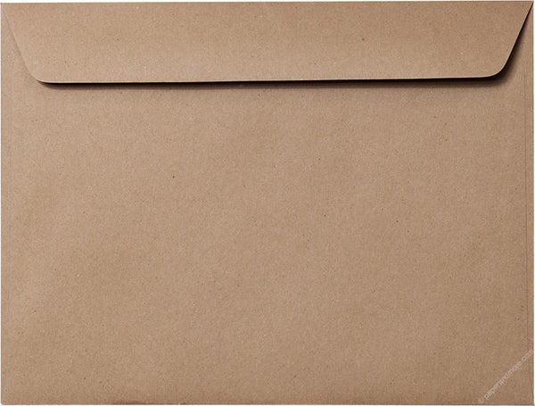 "9"" x 12"" Booklet Kraft Brown Recycled Envelopes - Paperandmore.com"