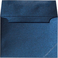 "A-1 (4 Bar) Dark Blue Metallic Envelopes (3 5/8"" x 5 1/8"")"