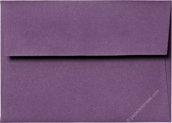 "A-1 (4 Bar) Dark Purple Solid Envelopes (3 5/8"" x 5 1/8"") - Paperandmore.com"