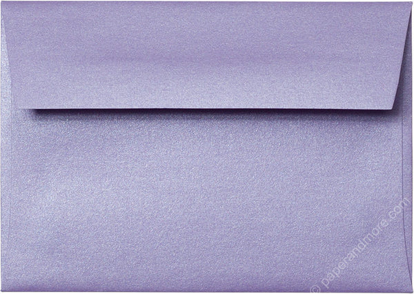 "A-1 (4 Bar) Lavender Metallic Envelopes (3 5/8"" x 5 1/8"") - Paperandmore.com"