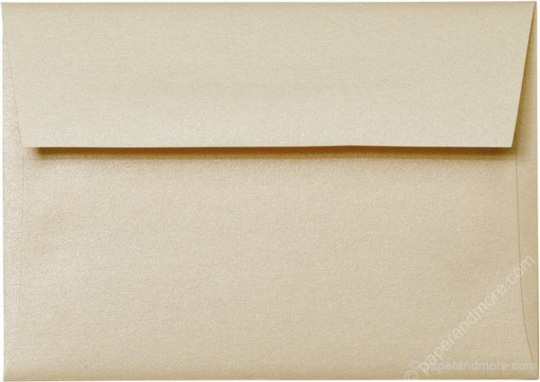 "A-1 (4 Bar) Peach (Coral) Metallic Envelopes (3 5/8"" x 5 1/8"") - Paperandmore.com"