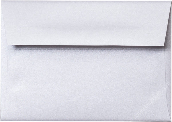 A-1 (4 Bar) Pearl White Metallic Envelopes (3 5/8