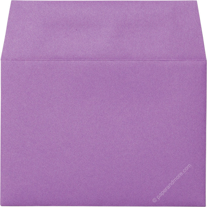 "A-1 (RSVP) Purple Grape Solid Envelopes (3 5/8"" x 5 1/8"") - Paperandmore.com"