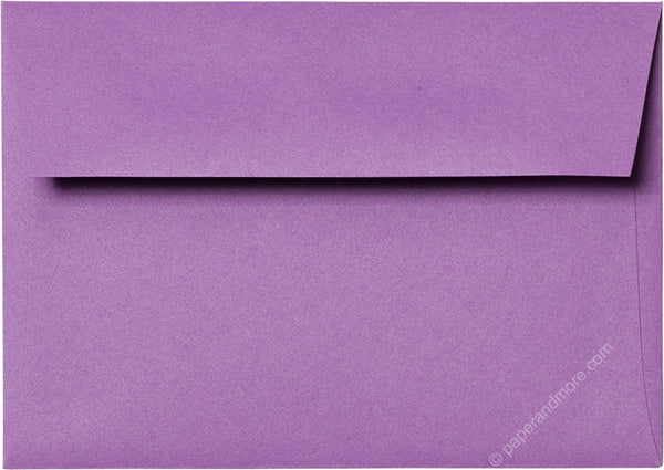 "A-1 (4 Bar) Purple Grape Solid Envelopes (3 5/8"" x 5 1/8"") - Paperandmore.com"