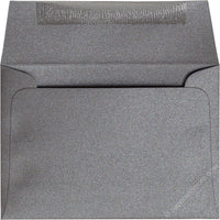 "A-1 (4 Bar) Steel Gray Metallic Envelopes (3 5/8"" x 5 1/8"")"