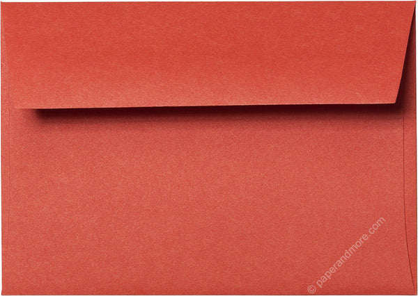 A-1 (4 Bar) Sunset Orange Solid Envelopes (3 5/8