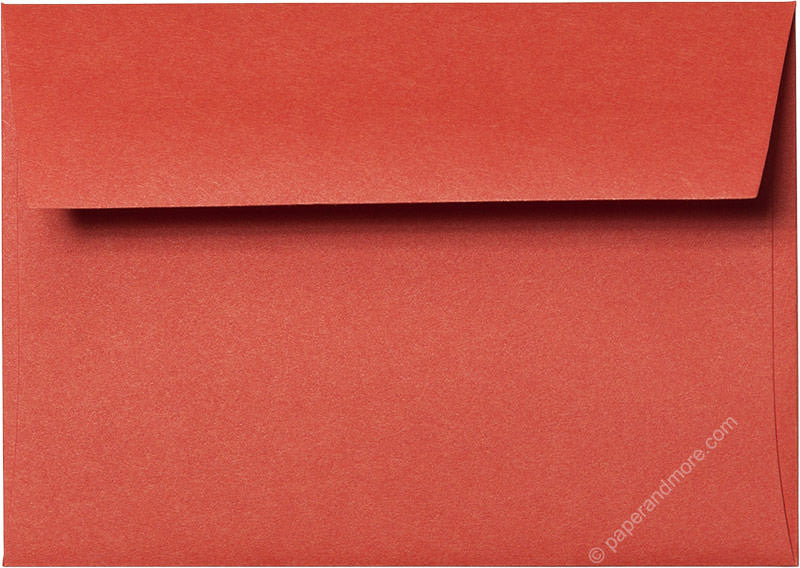 "A-1 (RSVP) Sunset Orange Solid Envelopes (3 5/8"" x 5 1/8"") - Paperandmore.com"