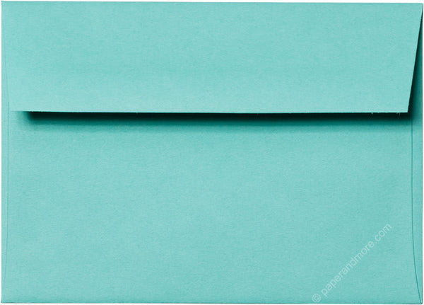 "A-1 (RSVP) Tiffany Blue Solid Envelopes (3 5/8"" x 5 1/8"") - Paperandmore.com"