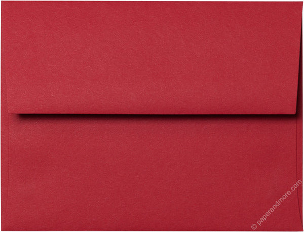 "A-2 Cherry Red Solid Envelopes (4 3/8"" x 5 3/4"") - Paperandmore.com"