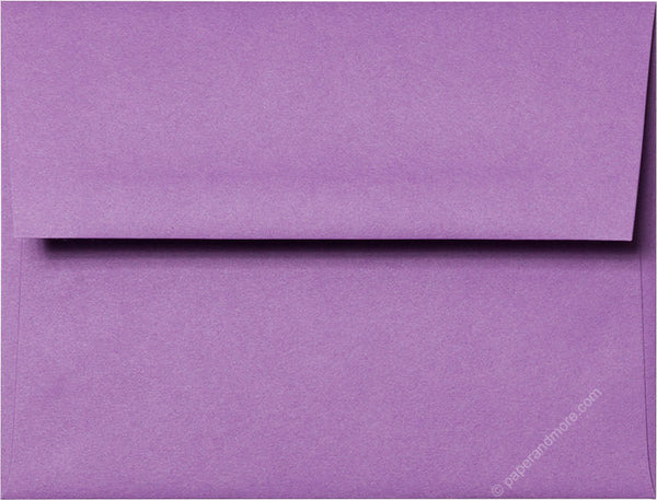 "A-2 Purple Grape Solid Envelopes (4 3/8"" x 5 3/4"") - Paperandmore.com"