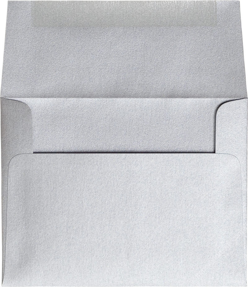 "A-2 Silver Metallic Envelopes (4 3/8"" x 5 3/4"")"