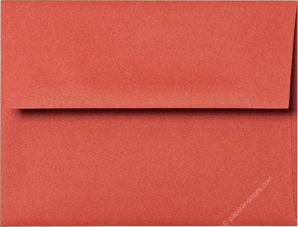 "A-2 Sunset Orange Solid Envelopes (4 3/8"" x 5 3/4"") - Paperandmore.com"