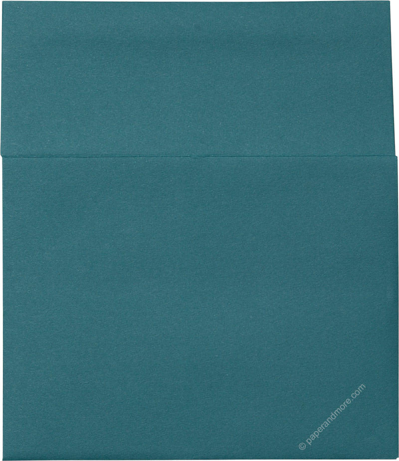 "A-2 Teal Solid Envelopes (4 3/8"" x 5 3/4"") - Paperandmore.com"