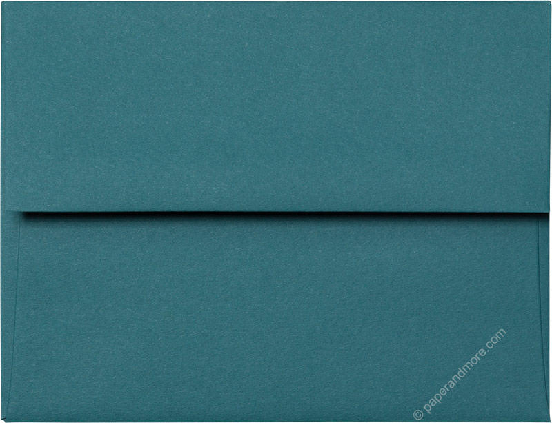 "A-2 Teal Solid Envelopes (4 3/8"" x 5 3/4"")"