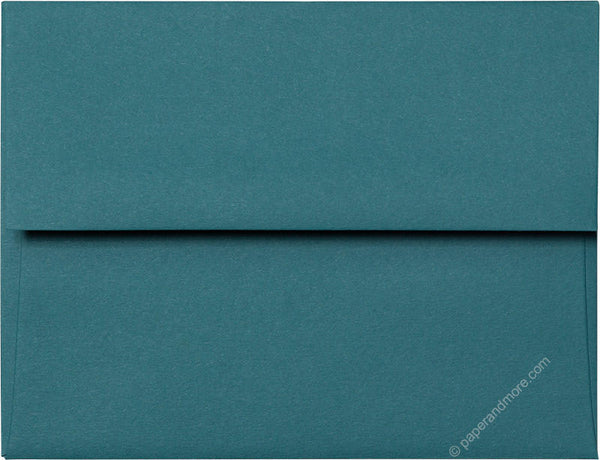 A-2 Teal Solid Envelopes (4 3/8