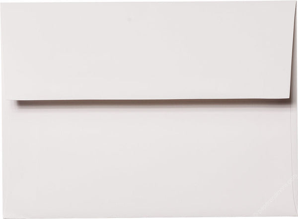 "A-6 Classic White Solid Envelopes (4 3/4"" x 6 1/2"") - Paperandmore.com"
