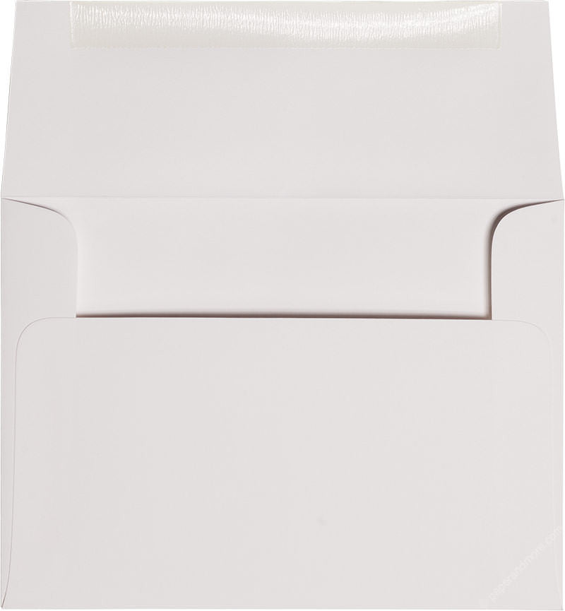 "A-6 Classic White Solid Envelopes (4 3/4"" x 6 1/2"")"