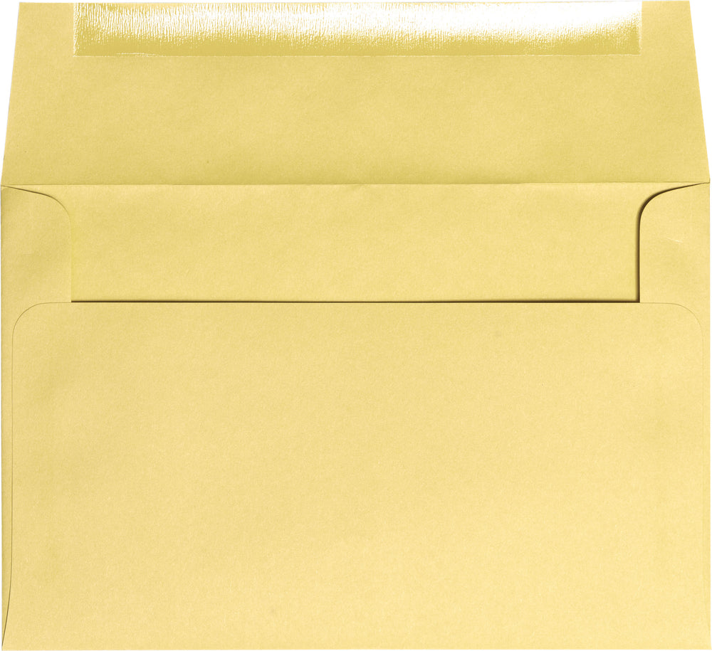 "A-2 Banana Yellow Solid Envelopes (4 3/8"" x 5 3/4"")"