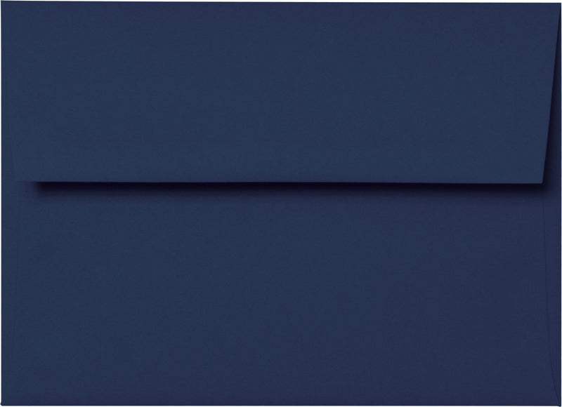 "A-2 Blazer Blue Solid Envelopes (4 3/8"" x 5 3/4"") - Paperandmore.com"