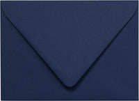 "Outer A-7.5 Blazer Blue Solid Euro Flap Envelopes (5 1/2"" x 7 1/2"")"