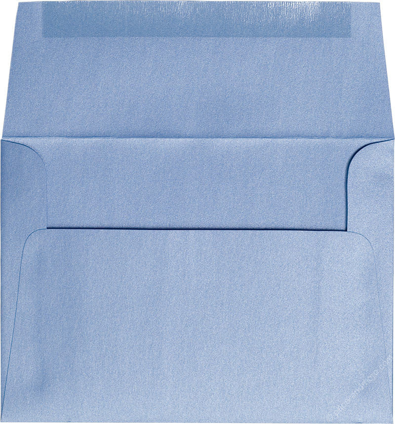 "A-7 Blue Vista Metallic Envelopes (5 1/4"" x 7 1/4"") - Paperandmore.com"