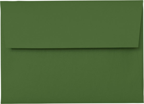A-1 (4 Bar) Botanic Green Metallic Envelopes (3 5/8