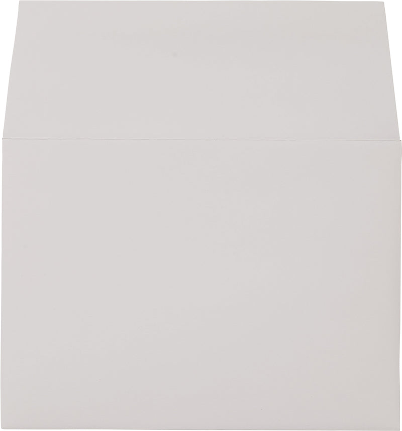 "A-7 Bright White Solid Envelopes (5 1/4"" x 7 1/4"") - Paperandmore.com"