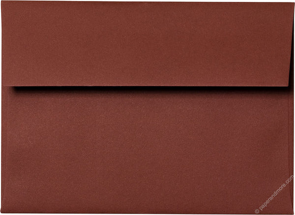 "A-7 Burgundy Solid Envelopes (5 1/4"" x 7 1/4"") - Paperandmore.com"