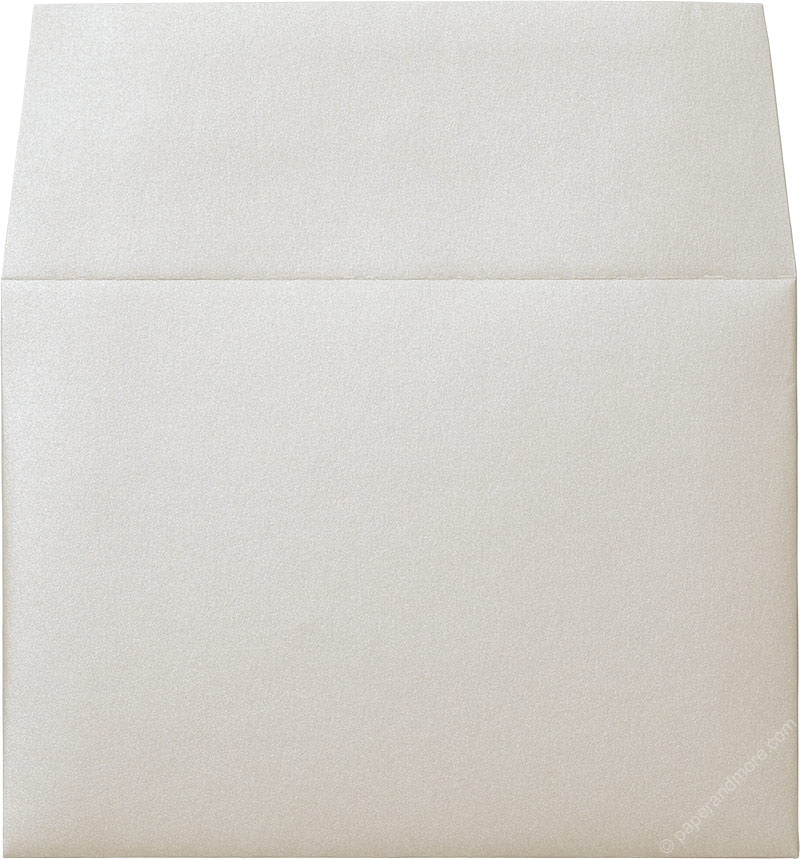 "A-7 Champagne Cream Metallic Envelopes (5 1/4"" x 7 1/4"") - Paperandmore.com"