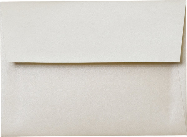 A-6 Champagne Cream Metallic Envelopes (4 3/4