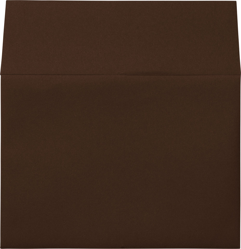"A-1 (4 Bar) Chocolate Brown Solid Envelopes (3 5/8"" x 5 1/8"")"