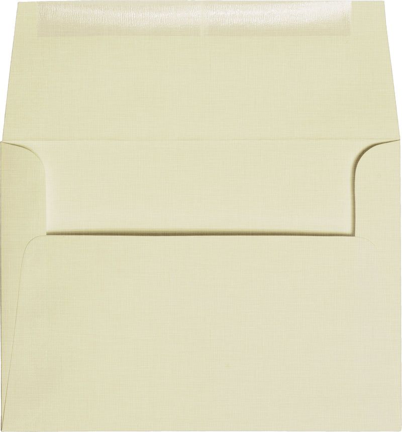 "A-7 Natural Cream Linen Envelopes (5 1/4"" x 7 1/4"") - Paperandmore.com"