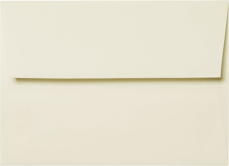 "A-2 Classic Natural Cream Solid Envelopes (4 3/8"" x 5 3/4"") - Paperandmore.com"