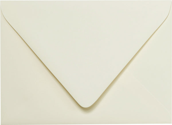 A-7 Classic Natural Cream Solid Euro Flap Inner Envelopes - Ungummed - (5 1/4