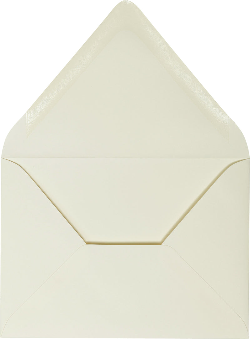 "A-1 (RSVP) Classic Natural Cream Solid Euro Flap Envelopes (3 5/8"" x 5 1/8"") - Paperandmore.com"