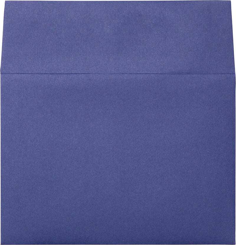 "A-7 Cobalt Blue Solid Envelopes (5 1/4"" x 7 1/4"") - Paperandmore.com"