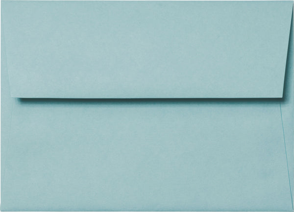 A-2 Cornflower Blue Solid Envelopes (4 3/8