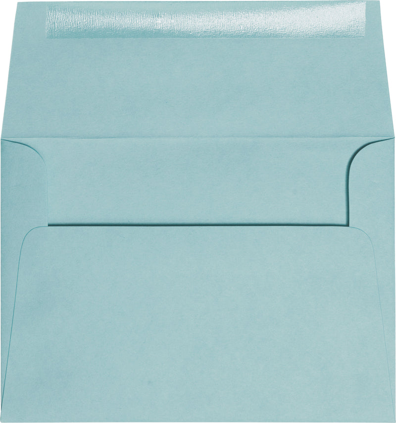 "A-7 Cornflower Blue Solid Envelopes (5 1/4"" x 7 1/4"") - Paperandmore.com"
