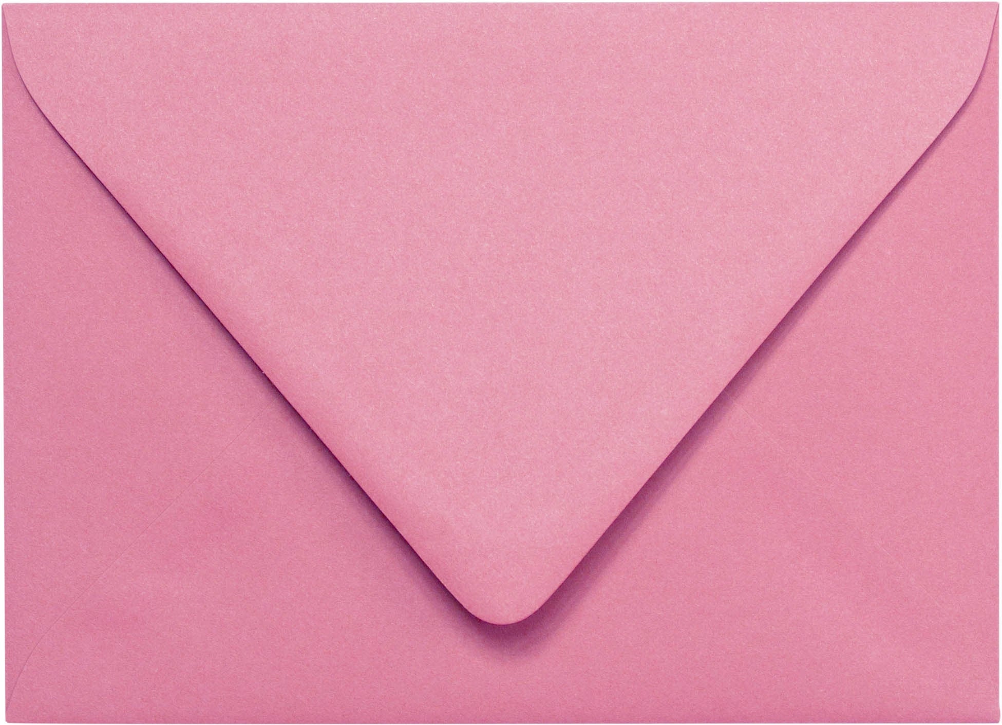 bd48f63c383cf A-7 Cotton Candy Pink Solid Euro Flap Envelopes (5 1/4
