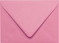 "A-1 (RSVP) Cotton Candy Pink Solid Euro Flap Envelopes (3 5/8"" x 5 1/8"") - Paperandmore.com"