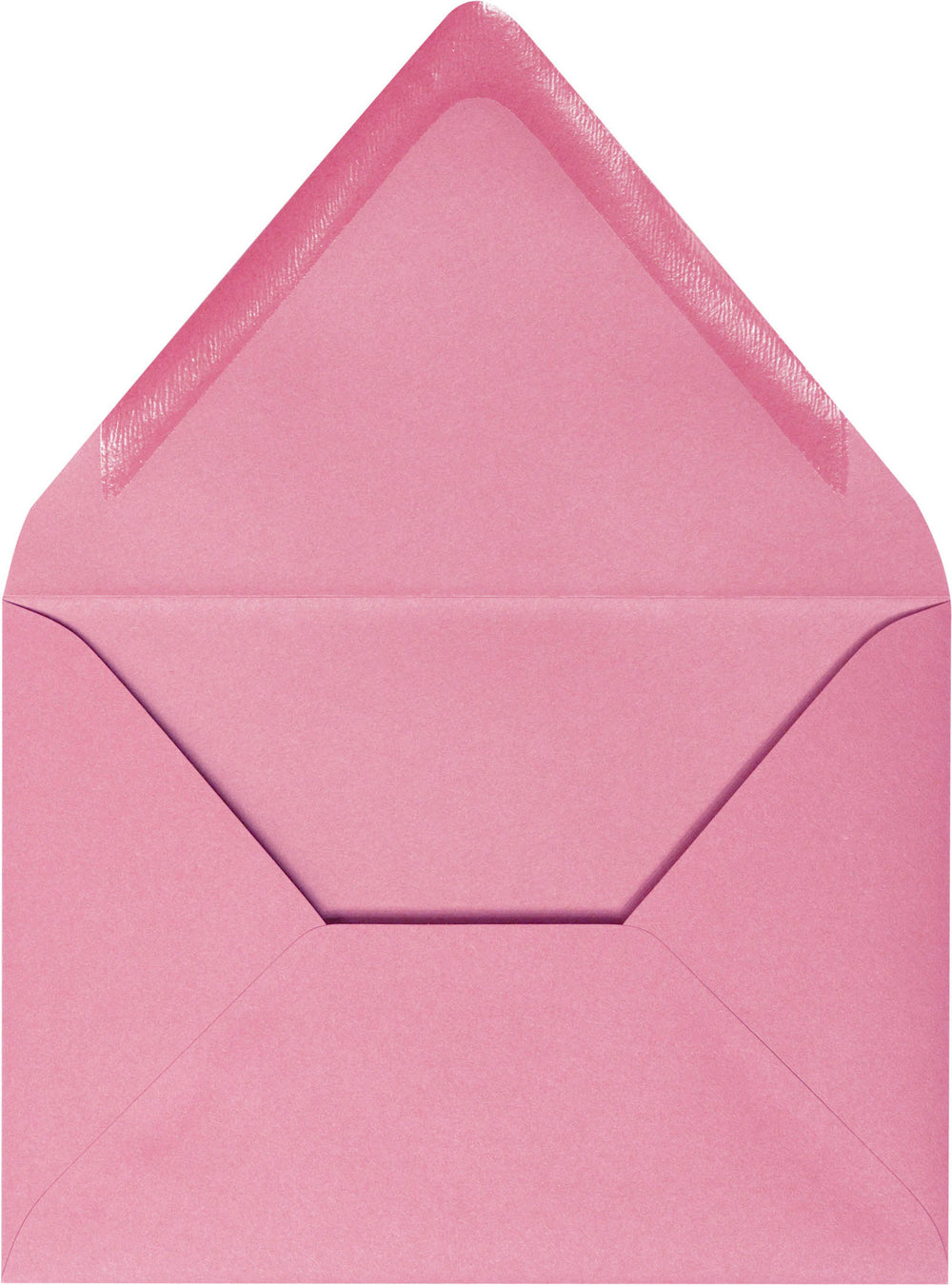 "A-7 Cotton Candy Pink Solid Euro Flap Envelopes (5 1/4"" x 7 1/4"")"